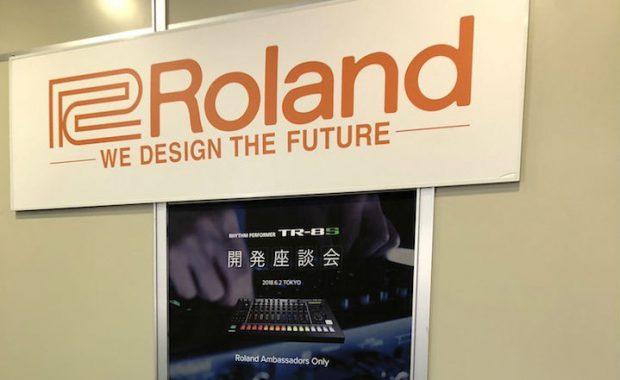 ローランド アンバサダープログラム『TR-8S開発座談会』