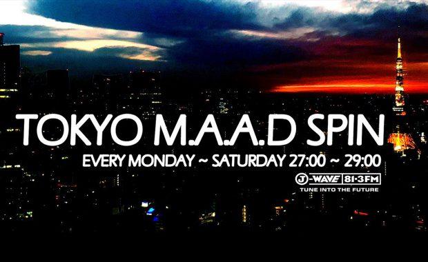 J-WaveのDJ-Mixプログラム『TOKYO M.A.A.D SPIN』とCharterhouse Recordsがコラボレーション